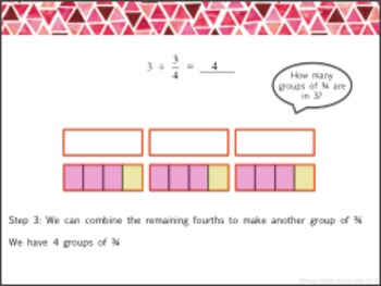 Dividing Fractions Lesson Pack