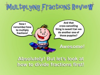 Dividing Fractions Made Easy (PowerPoint Only) CCSS Aligned
