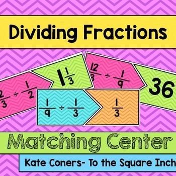 Dividing Fractions Center