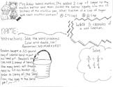 Dividing Fractions Math Doodle