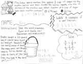 Dividing Fractions Math Doodle KEY