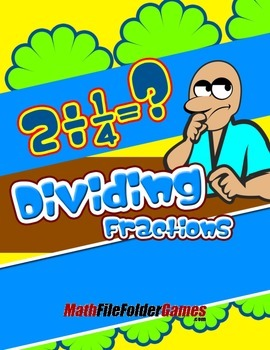 Dividing Fractions {Math Game}