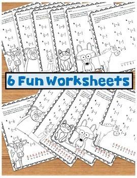 Dividing Fractions No Prep Worksheet Packet
