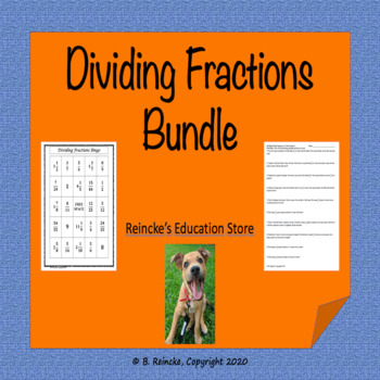 Dividing Fractions Package (7 products in all)