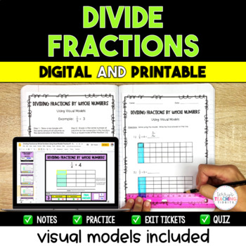 Dividing Fractions Packet