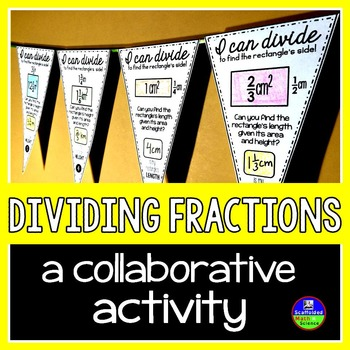 Dividing Fractions Pennant