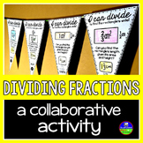 Dividing Fractions Pennant Activity