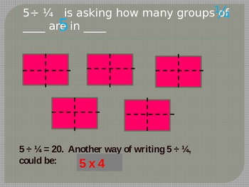 Dividing Fractions Power Point