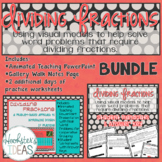 Dividing Fractions PowerPoint and Student Worksheets BUNDLE
