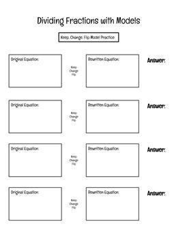 Dividing Fractions Practice