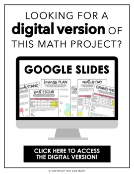 Dividing Fractions Project
