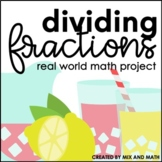 Dividing Fractions Project | Distance Learning