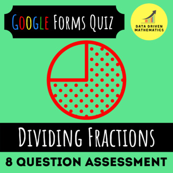 Dividing Fractions Quiz (Available in Google Forms & Paper Format)