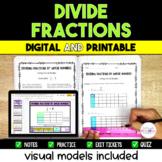Dividing Fractions Resource Bundle {Digital & Printable}