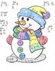 Dividing Fractions Snowman
