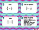 Dividing Fractions Task Cards 5.NF. 7 6.NS.1