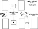 Dividing Fractions Work Mat