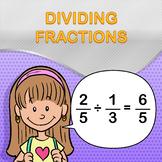 Dividing Fractions Worksheet Maker - Create Infinite Math Worksheets!