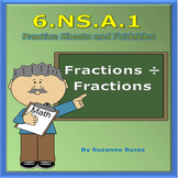 Dividing Fractions and Mixed Numbers: 6.NS.A.1