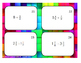 Dividing Fractions and Whole Numbers Task Cards