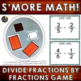 Dividing Fractions by Fractions Game