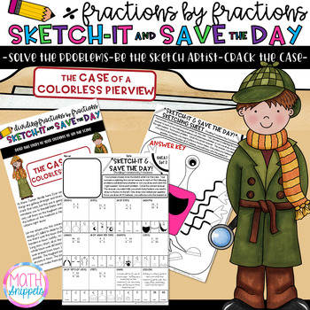 Dividing Fractions by Fractions-Sketch-It & Save-Case of Colorless Pierview