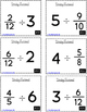 Dividing Fractions by Whole Numbers Game