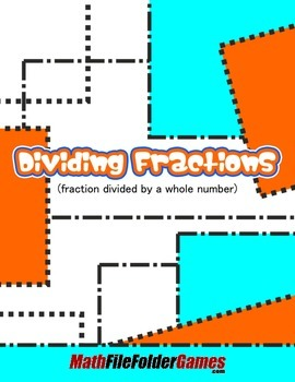 Dividing Fractions (fraction divided by a whole number)