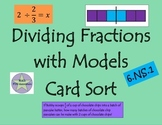 Dividing Fractions with Models Card Sort