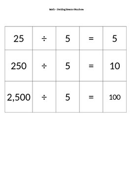Dividing Greater Numbers