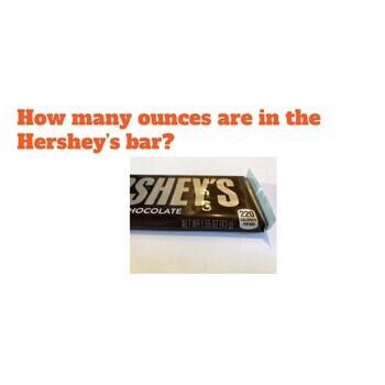 Dividing Hershey's Chocolate