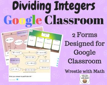 Dividing Integers – 2 Google Form Activities – Perfect for Google Classroom