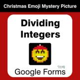 Dividing Integers - Christmas EMOJI Mystery Picture - Goog