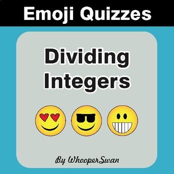 Dividing Integers Emoji Quiz