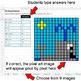 Dividing Integers - Google Sheets Pixel Art - Ocean Animals