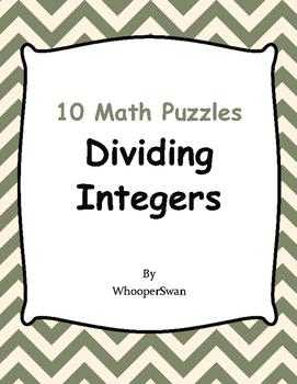 Dividing Integers Puzzles