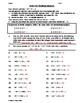 Dividing Integers Practice Worksheet