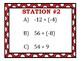 Dividing Integers Stations