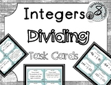 Dividing Integers Task Cards
