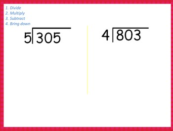 Dividing Larger Numbers with Remainders- 4.NBT.6