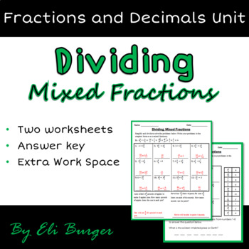 Dividing Mixed Fractions