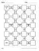 Dividing Mixed Fractions Maze