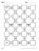 Dividing Mixed Fractions Maze