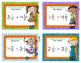 Fraction Task Cards Dividing Mixed Numbers