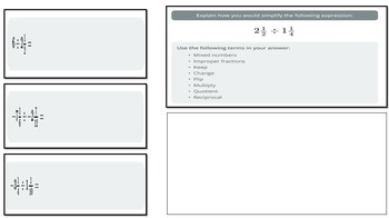 Dividing Mixed Numbers Practice (PowerPoint Lesson with Printables)