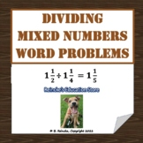 Dividing Mixed Numbers Word Problems
