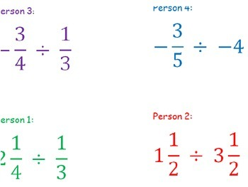 Dividing Mixed Numbers and Fractions Practice