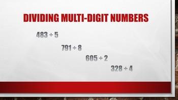Dividing Multi-Digit Numbers