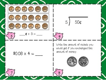 Dividing & Multiplying with Cents - Mult.,Div. & Money Skills!