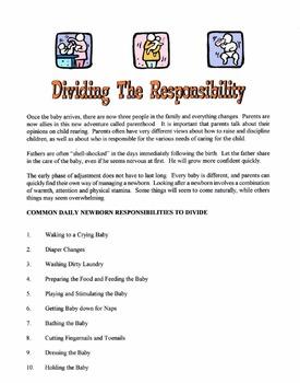 Dividing Parental Responsibility Lesson